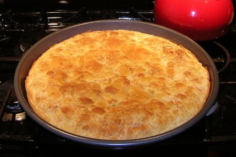 Torta salata chiamata Byrek
