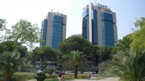 Le due torri a Tirana.