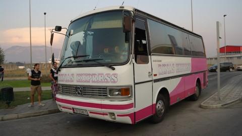 Aeroporto Albania - L'autobus Rinas Express