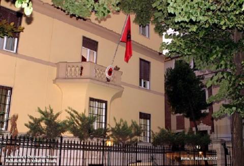 Ambasciata Albanese a Roma. Via Asmara.