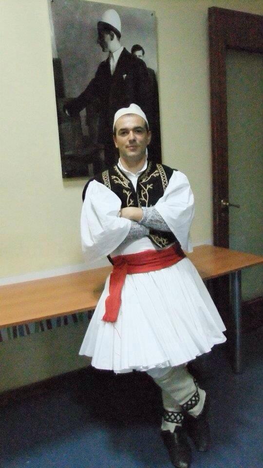 Costume tradizionale da uomo - Costumi albanesi