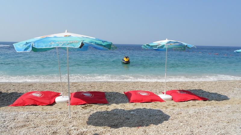 Spiaggia di Dhermi ore 9:00 am