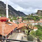 Kruja, vista sul vecchio bazar